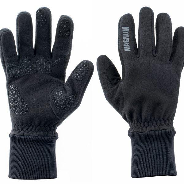 rukavice Magnum OWL black/gray     technické rukavice    panely se silikonovými výtisky    prodyšná avětru odolná    materiál: 100% polyester