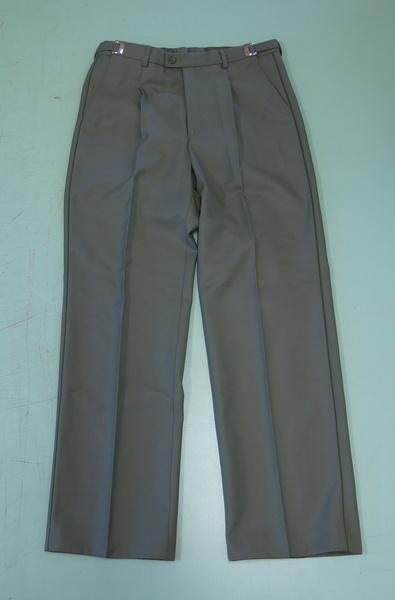 kalhoty vz.97 vycházkové zelené kalhoty vzor 97 vycházkové zelené originál používaný AČR materiál: 45% vlna