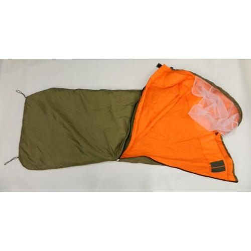 pytel spací pro průzkumníky letní pytel spací pro průzkumníky letní je určen kodpočinku pro příslušníky speciálních jednotek AČR spacák obdelníkového tvaru barva: vnější khaki