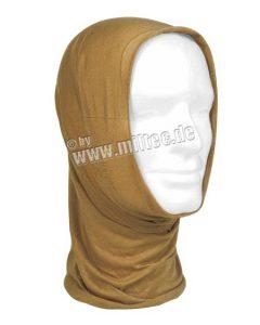 šátek Headgear coyote šátek Headgear coyote    univerzální šátek jednotné velikosti    bezešvý    lze nosit jako čepici