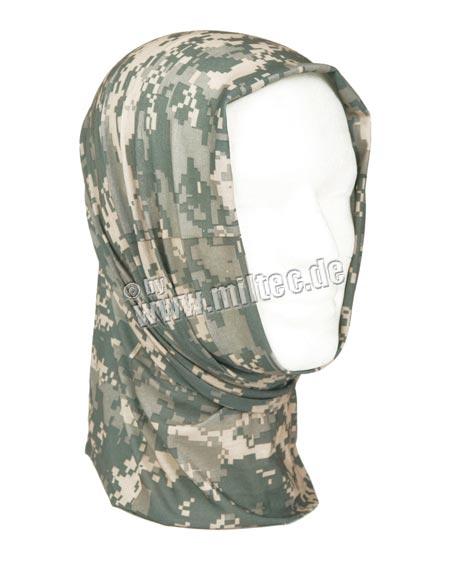 šátek Headgear AT digital šátek Headgear AT digital univerzální šátek jednotné velikosti bezešvý lze nosit jako čepici