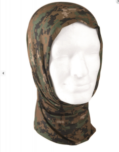 šátek Headgear digital woodland     šátek Headgear digital woodland    univerzální šátek jednotné velikosti    bezešvý    lze nosit jako čepici