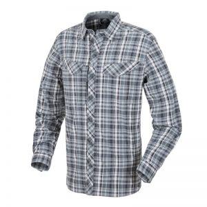 košile Helikon Defender Mk2 City Shirt-Stone Plaid Košile vládnou světu. Jsou perfektní vkombinaci se sakem aspolečenskými kalhotami