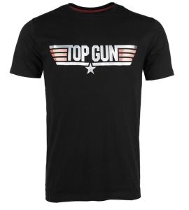 """tričko Top Gun     originální tričko Paramount pro filmové vydání 2. dílu 'Top Gun'    tisk """"TOP GUN""""    kulatý výstřih    střih objímající tělo    100% bavlna"""