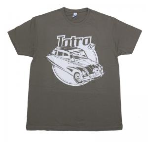 tričko Tatra 87 šedé L     materiál: 100% bavlna    prát ažehlit po rubu!    nové zboží