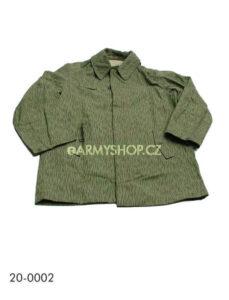 """kabát vz.60 použitý 3B     kabát -kongo vzor 60 -""""jehličí""""    originíl používaný ČSLA    má dvě přední kapsy ajednu kapsu zadní    zapínání na knoflíky kryté légou    délka rukávů je regulovatelná    použité zboží"""