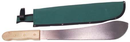 mačeta BW     klasická mačeta BW    ocelová mačeta sdřevěnou rukojetí vochranném plátěném pouzdře    smyčka aspona pro uchycení    délka ostří: cca 35