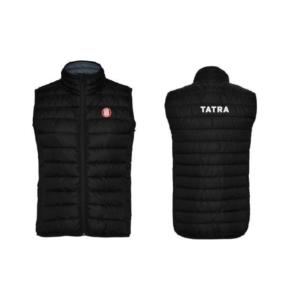 """vesta dámská TATRA L     dámská zateplená vesta    boční průhmatové kapsy na zip    vnitřní kapsy    kulatá výšivka loga """"TATRA"""" na levé hrudi"""